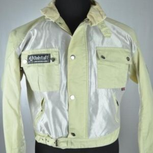Belstaff Light Khaki & Silver Jacket
